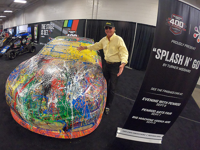Turner Woodard Paints A Nascar