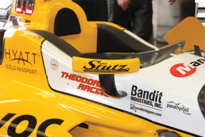 Turner Woodard Sponsors the Indianapolis 500