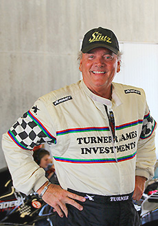 Turner Races At Indianapolis Motor Speedway