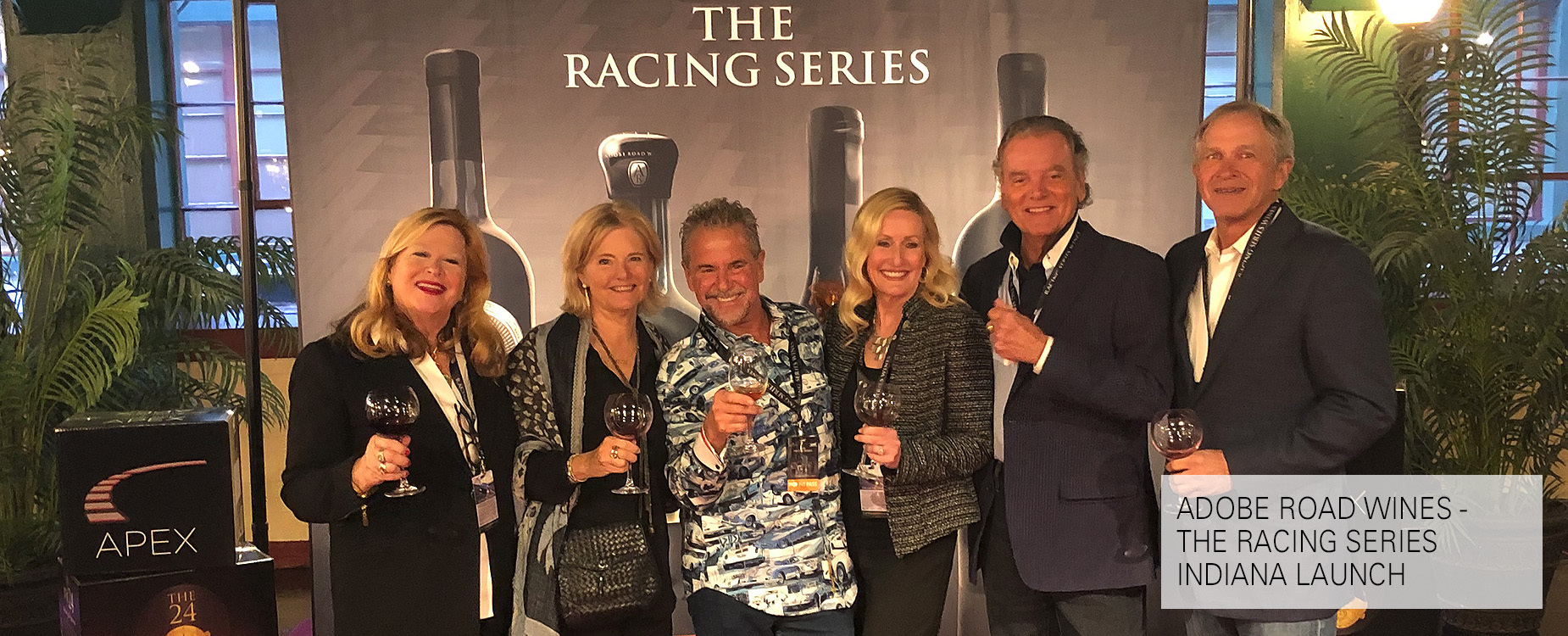 Adobe Road Wines - The Racing Series Indiana Launch