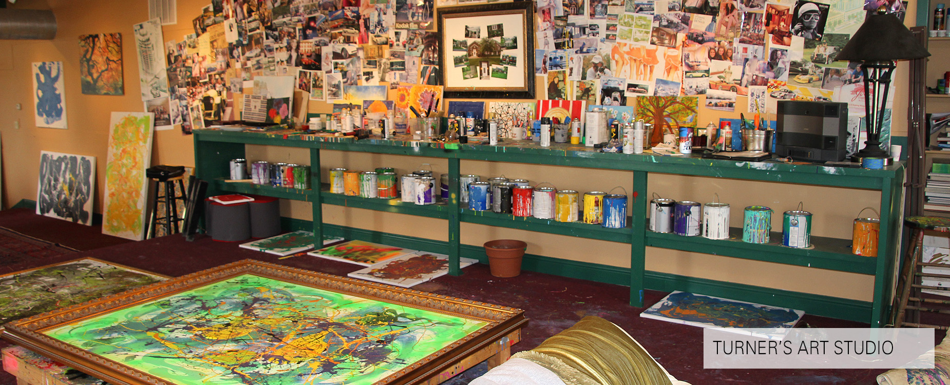 Turner Woodard's Art Studio