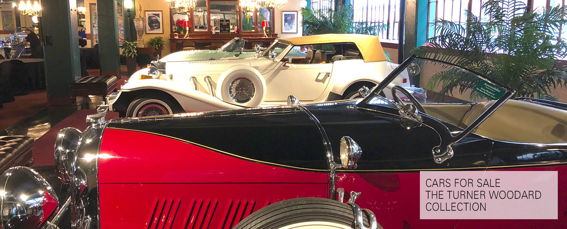 Cars For Sale - The Turner Woodard Collection