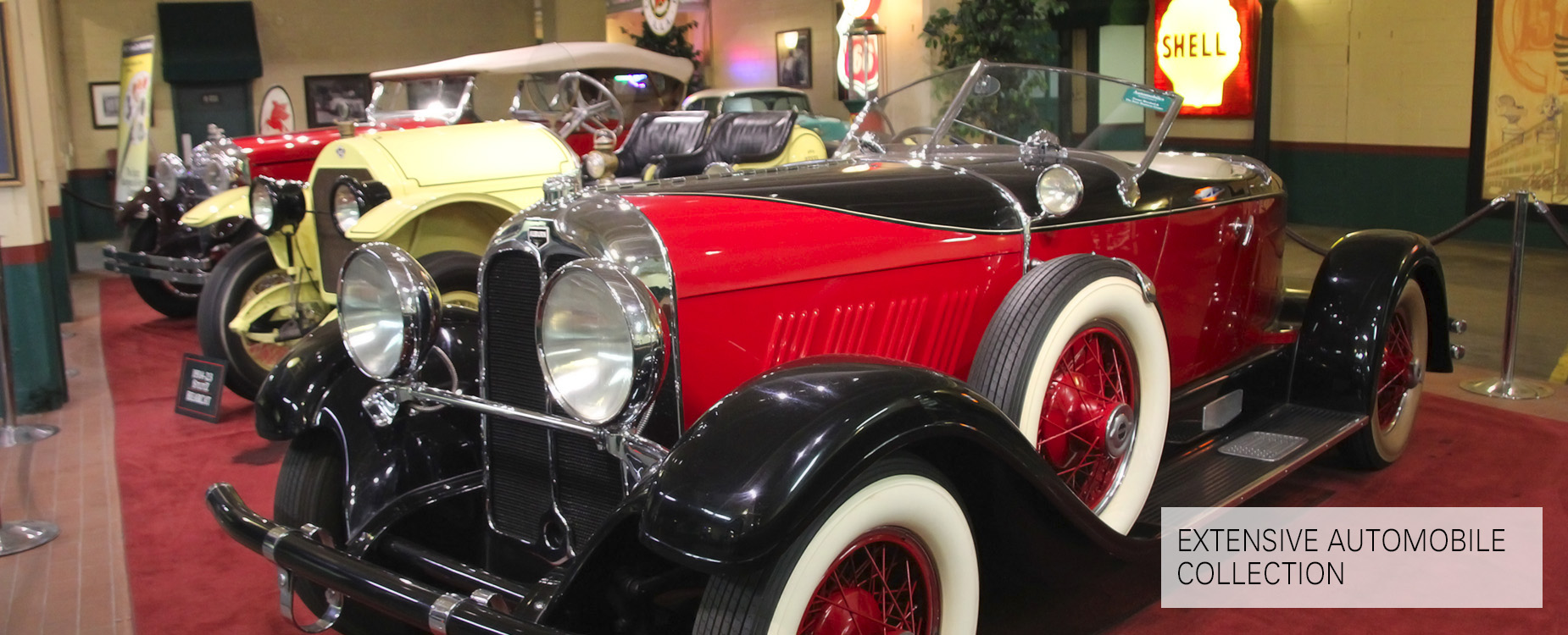 Turner Woodard's Extensive Automobile Collection